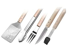 Jim Beam 5-Piece Grilling Tool Set