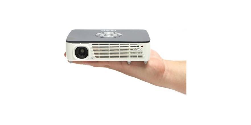 Aaxa p450 wxga hd pico projector for Hd pico projector