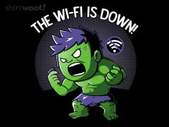 The Wi-Fi is Down!