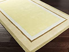 Young Life Beige & Gold Rug  - 5 Sizes