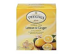 TWININGS TEA LEMON GINGER 6 Pack
