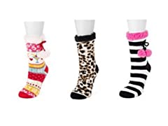 Betsey Johnson Women's Cabin Socks