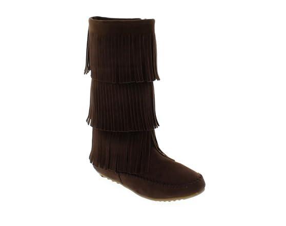 shoes of soul s 3 layer fringe fashion