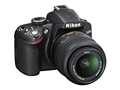 Nikon D3200 24.2 MP CMOS Digital SLR Camera