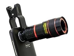 Koolulu 8x Zoom Camera Lens with Clip
