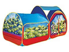 2-in-1 Toy Story Kids Bed Topper & Tent