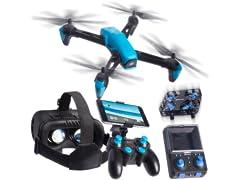 Odyssey Toys StellarNX Drone w/ VR Goggles & Mini Drone