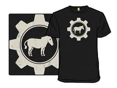 Ass in Gear - Heather Remix Shirt