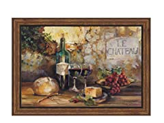 Le Chateau Framed 29x39