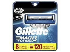 Gillette Mach3 Turbo Men's Razor Blades