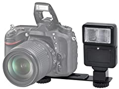 Xit Digital Camera Flash w/Bracket - 2pk