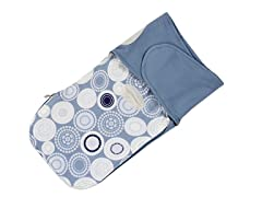 Munchkin French Terry Swaddle - Blue