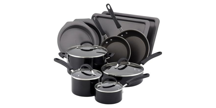 Kitchenaid 14pc cookware set 2 colors for Kitchenaid 6 set