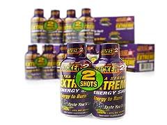 Stacker 2 Extreme Energy Shot-48 Bottles