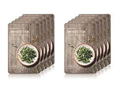Real Nature White Tea Mask - 10 Pack