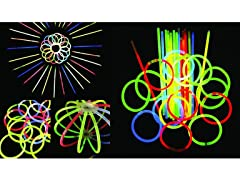 200+ 8'' Glow Sticks Bundle