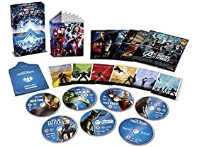Marvel Studios Cinematic Collection Phase 1 Blu-Ray