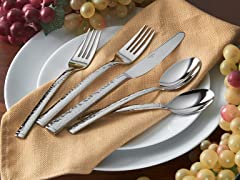 Towle 18/10 Vince 45pc Flatware Set