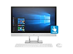 "HP Pavilion 24"" Full-HD AMD Touch AIO Desktop"