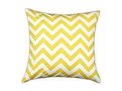 Zig Zag Corn 17x17 Pillow