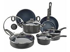 GreenPan 12-Pc Cookware Set - Grey