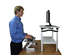 Uncaged Ergonomics Standing Desk Conversion Kit-Tall