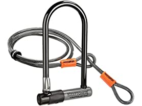 Kryptonite Heavy Duty Bike U Lock w/ 4ft Flex Cable