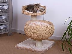 """23"""" Paper Rope Cat Perch"""
