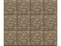 Restored Tile Bronze Backsplash