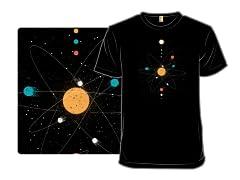 Little Planet Atom Universe