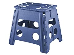 "13"" Foldable Step Stool - 3 Colors"