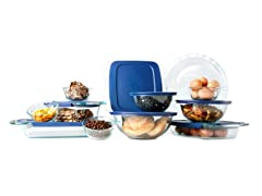 Pyrex Easy Grab™ 19pc Bake 'N Store Set