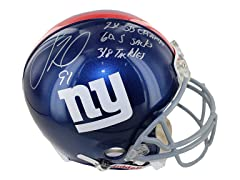 Justin Tuck Signed Giants Full Size