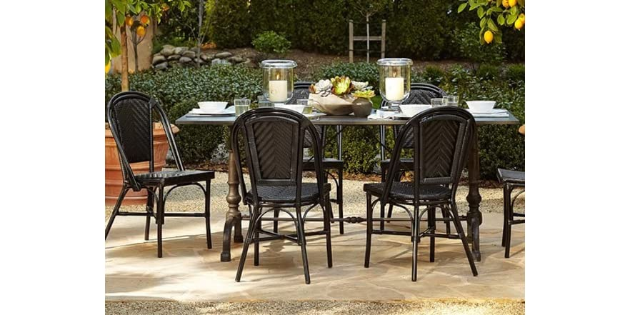 Wicker French Cafe Bistro Chairs Your Choice