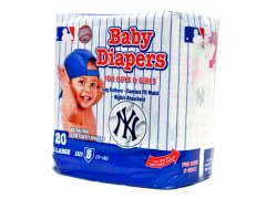 New York Yankees Disposable Diapers