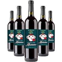 5-Pack Woot Cellars Under the Mistletoe Red Blend Wine