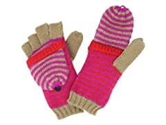 Jessica Simpson Stripe Pop Top Glove,Pnk