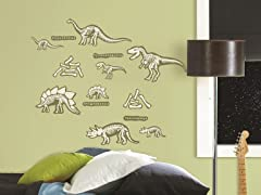 Glow-in-the-Dark Dinosaurs - Set of 4