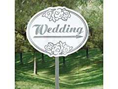 Fun Express - Cardboard Wedding Yard Sign