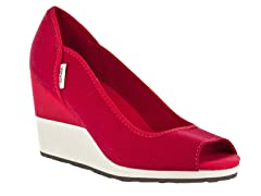 Women's Mush Promenade Wedge - Red