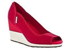 Teva Women's Mush Promenade Wedge - Red