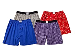 Kings Multi Boxer 4-Pack