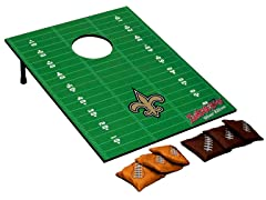 New Orleans Saints Tailgate Toss Game