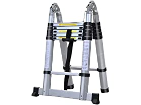 Clevr Aluminum Telescoping Ladders