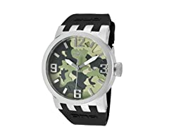 Men's DNA Green Camouflage Watch
