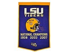 LSU Dynasty Banner