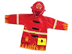 Kidorable Rain Coat - Fireman Size 5/6
