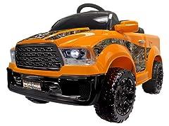 Best Ride on Cars Realtree Orange Truck 12V