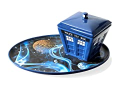 Tardis Soup and Sandwich