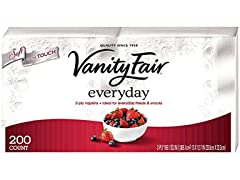 Vanity Fair Everyday Napkins White - 200
